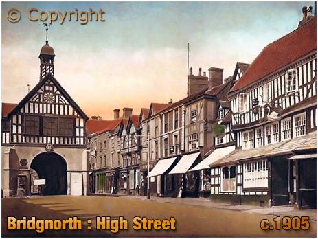 Bridgnorth : High Street [c.1905]