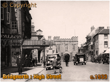 Bridgnorth : High Street [c.1933]