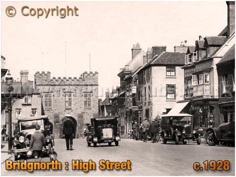 Bridgnorth : High Street and Northgate [c.1928]