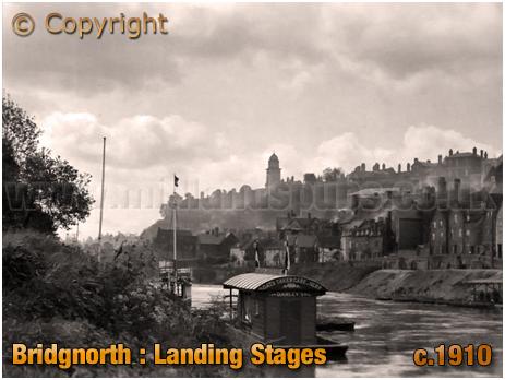 Bridgnorth : Landing Stages [c.1910]