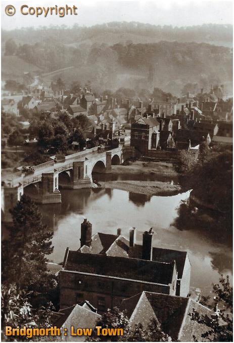 Bridgnorth : Low Town [c.1910]