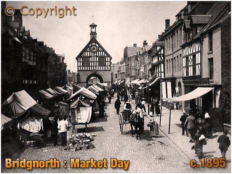 Bridgnorth : Market Day [c.1895]