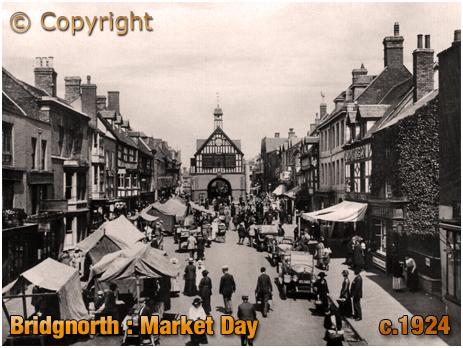 Bridgnorth : Market Day [c.1924]