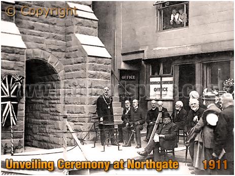 Bridgnorth : Unveiling Ceremony at Northgate [1911]