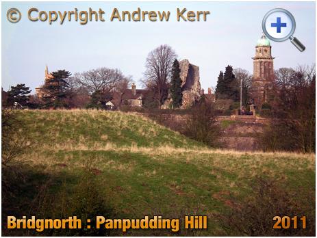 Bridgnorth : Panpudding Hill [© 2011 Andrew Kerr]