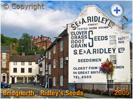 Bridgnorth : Ridley's Seeds Warehouse [2005]