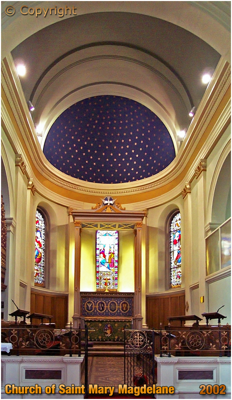 Bridgnorth : Chancel of the Church of Saint Mary Magdalene [2002]