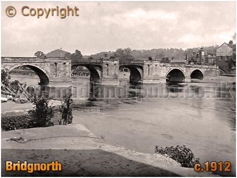Bridgnorth : Severn Bridge [c.1912]