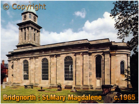 Bridgnorth : Saint Mary Magdalene's Church [c.1965]