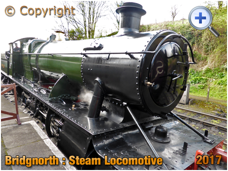 Bridgnorth : Steam Locomotive at the Railway Station [2017]