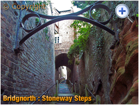Bridgnorth : Stoneway Steps [2005]