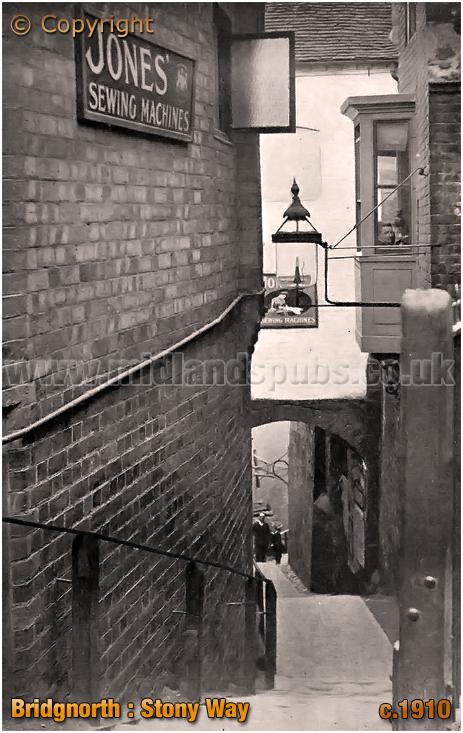 Bridgnorth : Stony Way [c.1910]