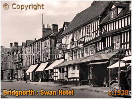 Bridgnorth : Swan Hotel [c.1938]