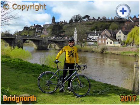Bridgnorth : Touring Cyclist [2017]