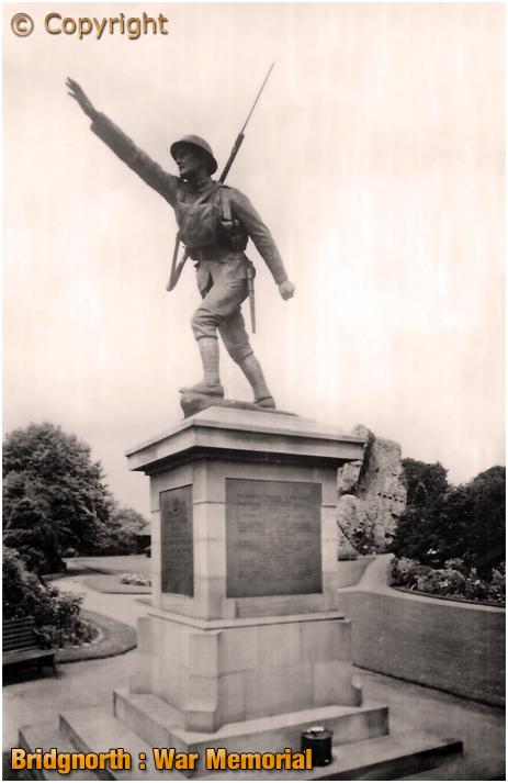 Bridgnorth : War Memorial [c.1930]