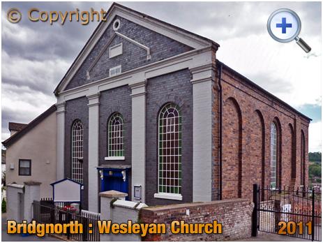 Bridgnorth : Wesleyan Church on Cartway [2011]
