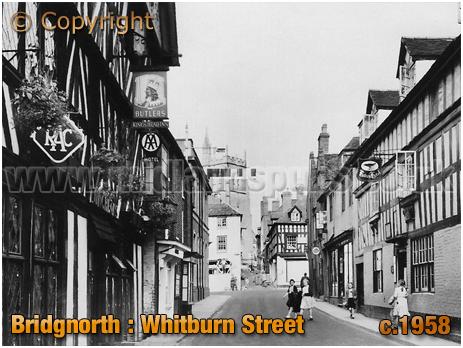 Bridgnorth : Whitburn Street [c.1958]