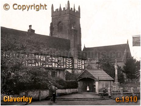 Claverley : All Saints' Church [1910]