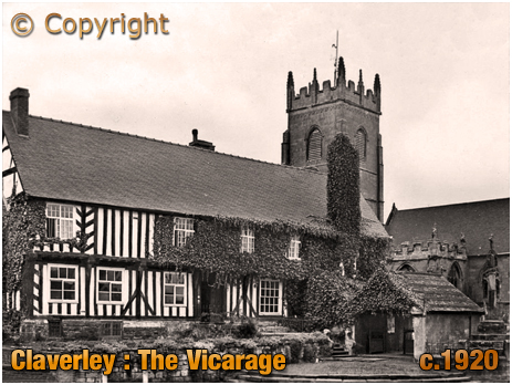 Claverley : The Vicarage [c.1920]