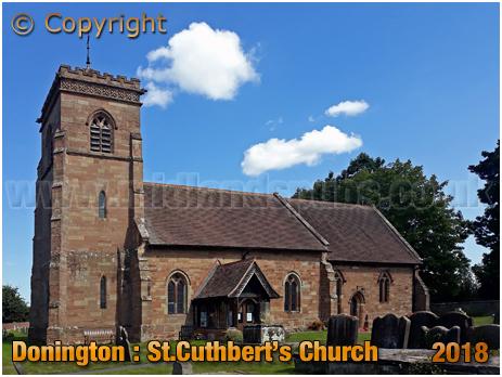 Donington : Saint Cuthbert's Church [2018]