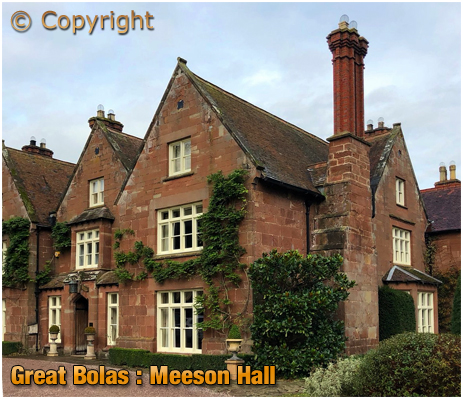 Great Bolas : Meeson Hall - former home of the printer Martin Billing [2014]