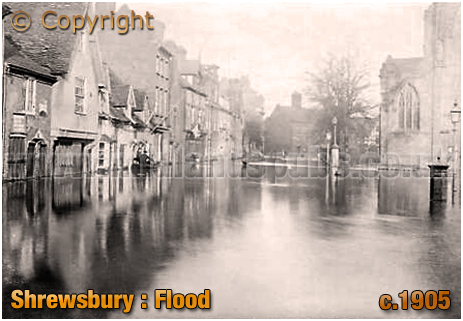 Shrewsbury : Flood [1905]