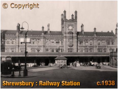 Shrewsbury : Railway Station [c.1938]
