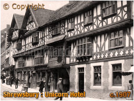 Shrewsbury : Unicorn Hotel [c.1907]