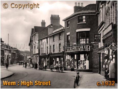 Wem : High Street [c.1932]