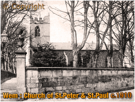 Wem : Parish Church of Saint Peter and Saint Paul [1910]