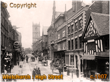 Whitchurch : High Street [c.1907]