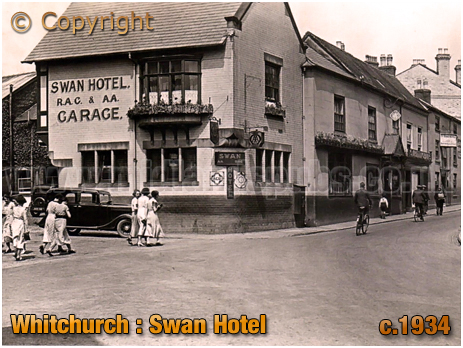 Whitchurch : Swan Hotel [c.1934]