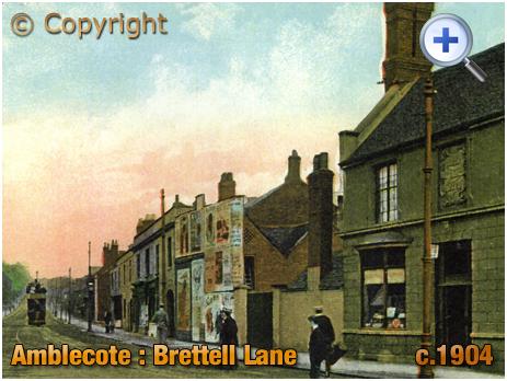 Amblecote : Brettell Lane [c.1904]