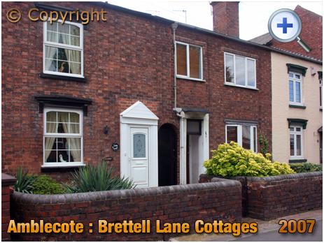 Amblecote : Brettell Lane Cottages at No.105-6 Brettell Lane [2007]