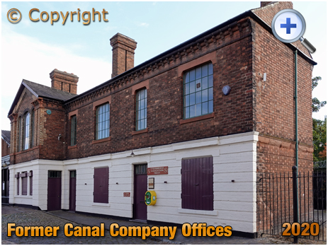 Amblecote : Former Canal Company Offices [2020]
