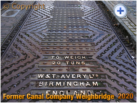 Amblecote : Avery Weighbridge at Canal Company Offices [2020]