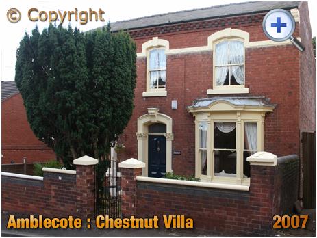 Amblecote : Chestnut Villa in Villa Street [2007]