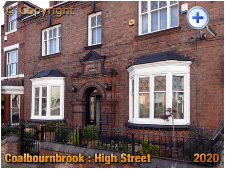 Amblecote : Raybourne No.131 High Street at Coalbournbrook