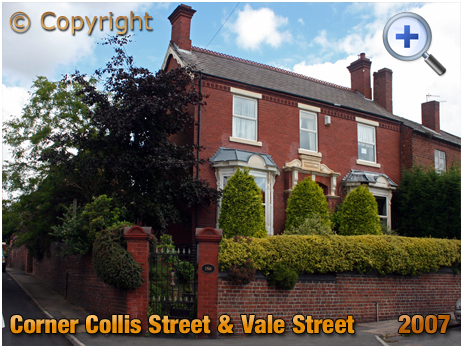 Amblecote : Overdale on the corner of Vale Street and Collis Street [2007]