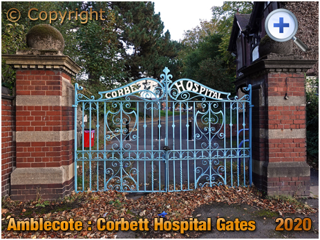 Amblecote : Gates of Corbett Hospital [2020]