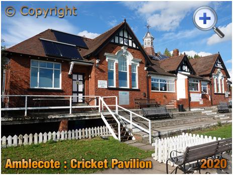 Amblecote : Cricket Pavilion at the War Memorial Athletic Ground [2020]