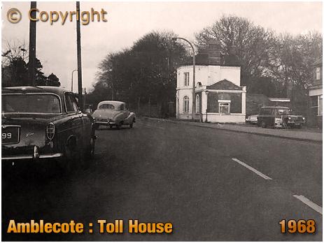Amblecote : Toll House on Brettell Lane [1968]