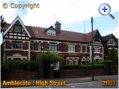 Amblecote : Edwardian Housing on High Street [2007]