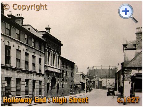 Amblecote : High Street at Holloway End [c.1927]