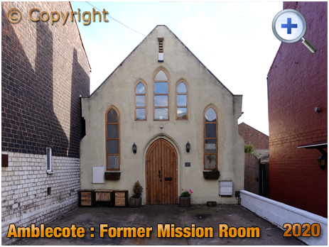 Amblecote : Former Mission Room and Sunday School in King William Street [2020]