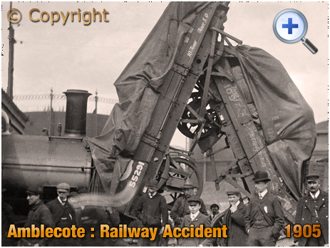 Amblecote : Railway Accident at Holloway End [1905]