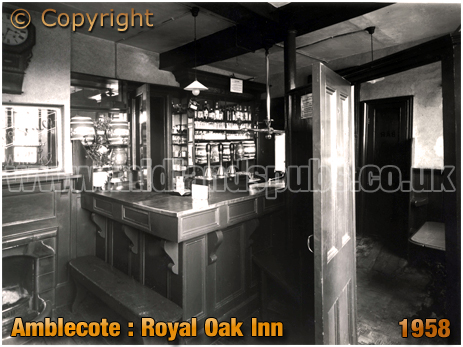 Amblecote : Tap Room of the Royal Oak Inn [1958]