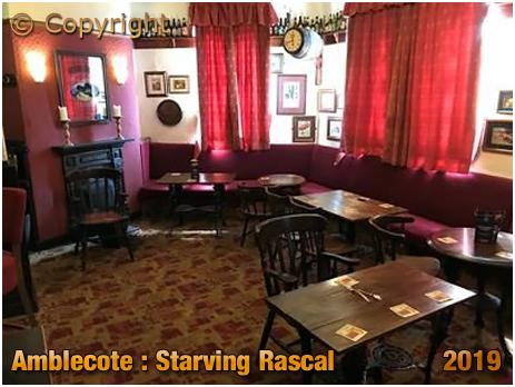 Amblecote : Interior of The Starving Rascal [2019]