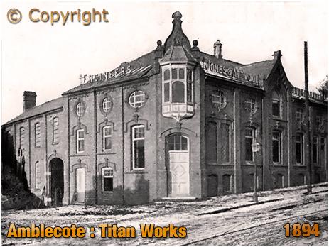 Amblecote : Titan Works of Jones & Attwood [1894]