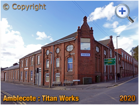 Amblecote : Former Titan Works Offices of Jones and Attwood Ironfounders [2020]